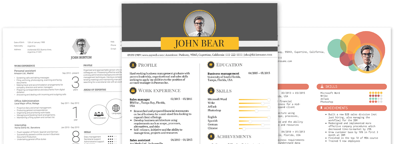 awards and achievements on a resume examples kickresume